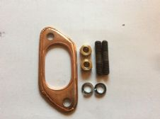 Big bore exhaust gasket stud and nut kit